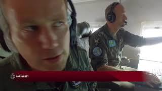 Dansk overvågningsfly ved EUs ydre grænser