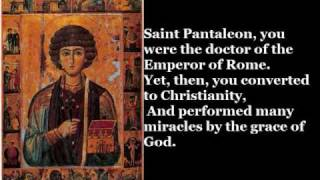 Saint Pantaleon (July 28)