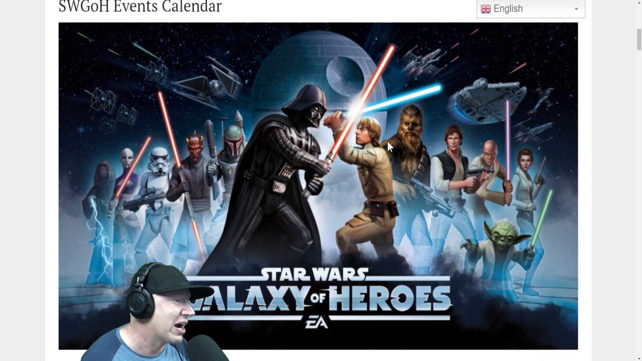 Swgoh Events Calendar.Galaxy Of Heroes February Login Character And Events Posted