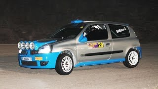 4° Palermo Exhibition Rally / ''Champagne'' - O. Buttitta / Renault Clio Rs N3