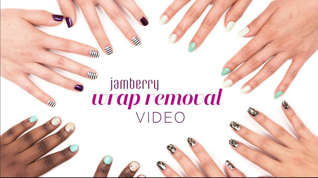 Jamberry Official Wrap Removal Video - UK - YouTube