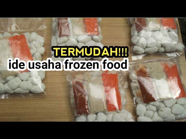Ide Usaha Frozen Food Frozen Cimol Youtube