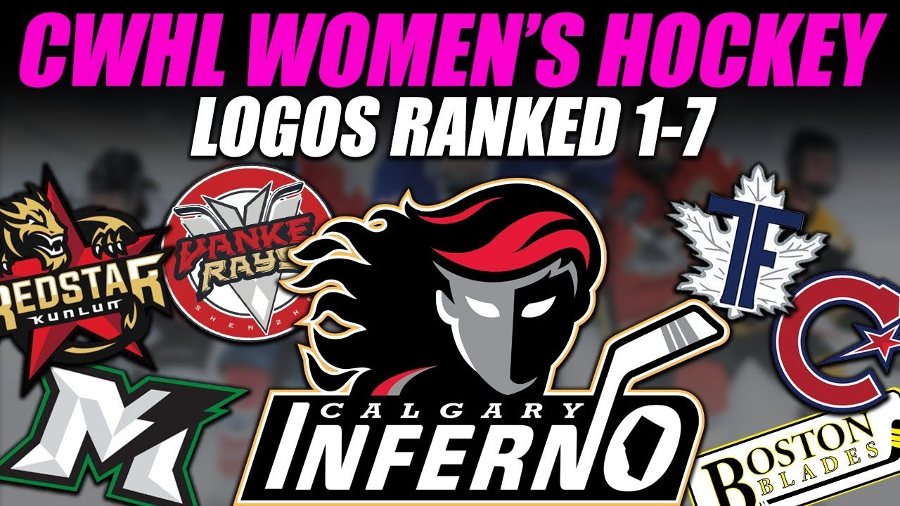 Hockey Logos Cwhl Women S Hockey Logos Ranked 1 7