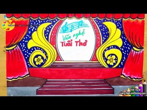 Vẽ và trang trí sân khấu