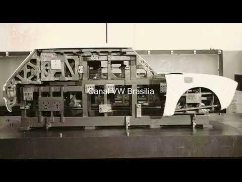 VW Brasilia linha de montagem linha de montagem vw brasilia