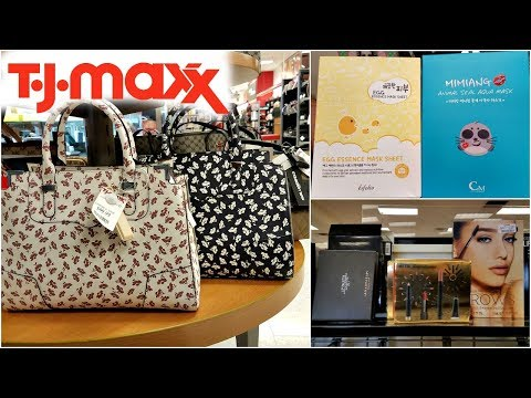 Shop With ME TJ MAXX REBECCA MINKOFF SHOES MAKEUP WALK THROUGH MARCH 2018