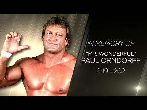 "Remembering ""Mr. Wonderful"" Paul Orndorff"