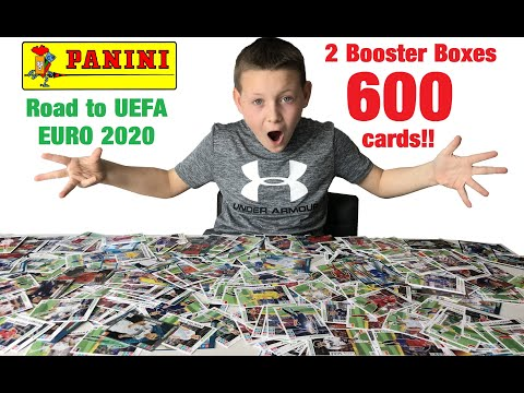 OPENING 100 PACKS Panini Road To Euro 2020 Adrenalyn XL Cards (pt.1) | UEFA Euro 2020 Football Cards