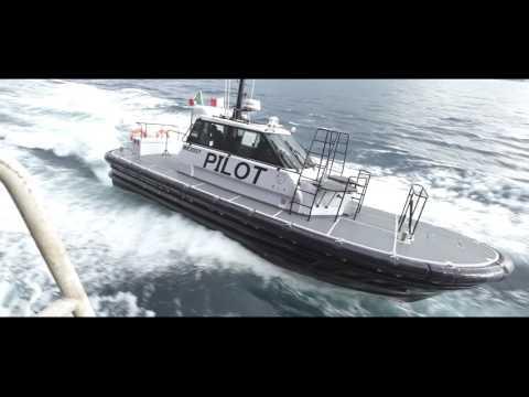 Bellcraft pilot boat powered by Volvo Penta IPS