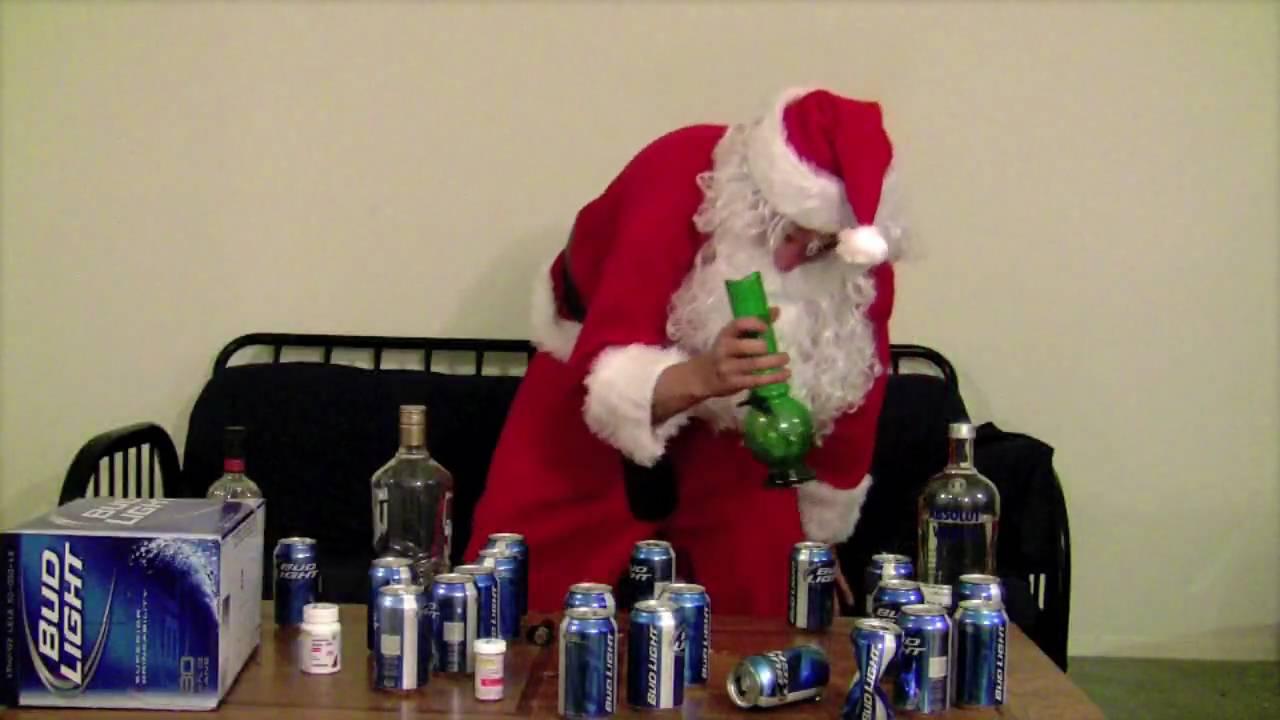 hanus santa got drunk this christmas - Drunk Christmas