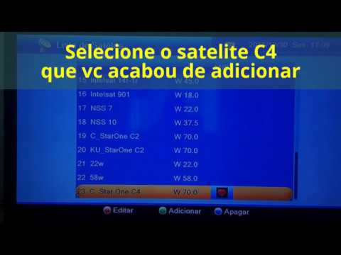 INSTALANDO SATELITE C4 no GIGABOX s1000 (2017)