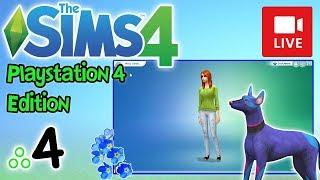 "[Archiwum] Live - The Sims 4 na PS4! (2) - [2/3] - ""Spalona przyjaciółka"""