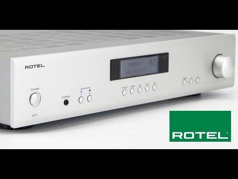The Vinyl Guide - Sneak Peek - Rotel A11 Amplifier