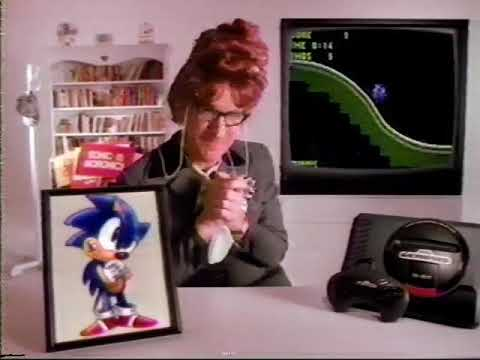 Sonic the Hedgehog Commercial 1991