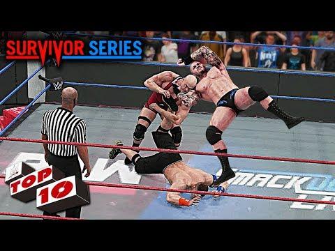 WWE Survivor Series 2017 Top 10 Predictions!! WWE 2K18 thumbnail