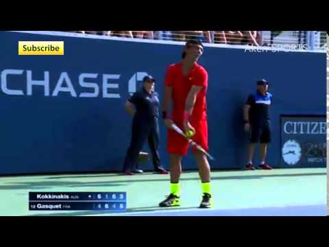 Kokkinakis plays despite his cramps | US Open 2015