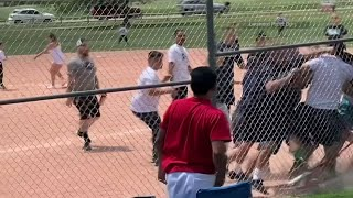 Police look for adult brawlers at kid's ball game