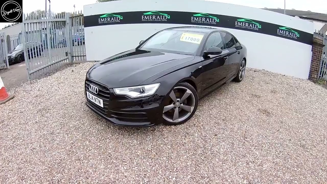 Audi a6 avant 2. 0 tdi ultra black edition | our cars | honest john.