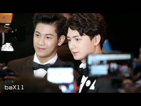 180927 Singto&Krist - Thailand Headlines 2018 @ Royal Paragon Hall