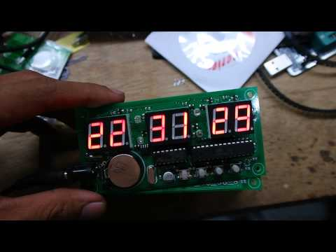 Jam Digital LCD 16x2 Dengan RTC CVAVR ASA Group