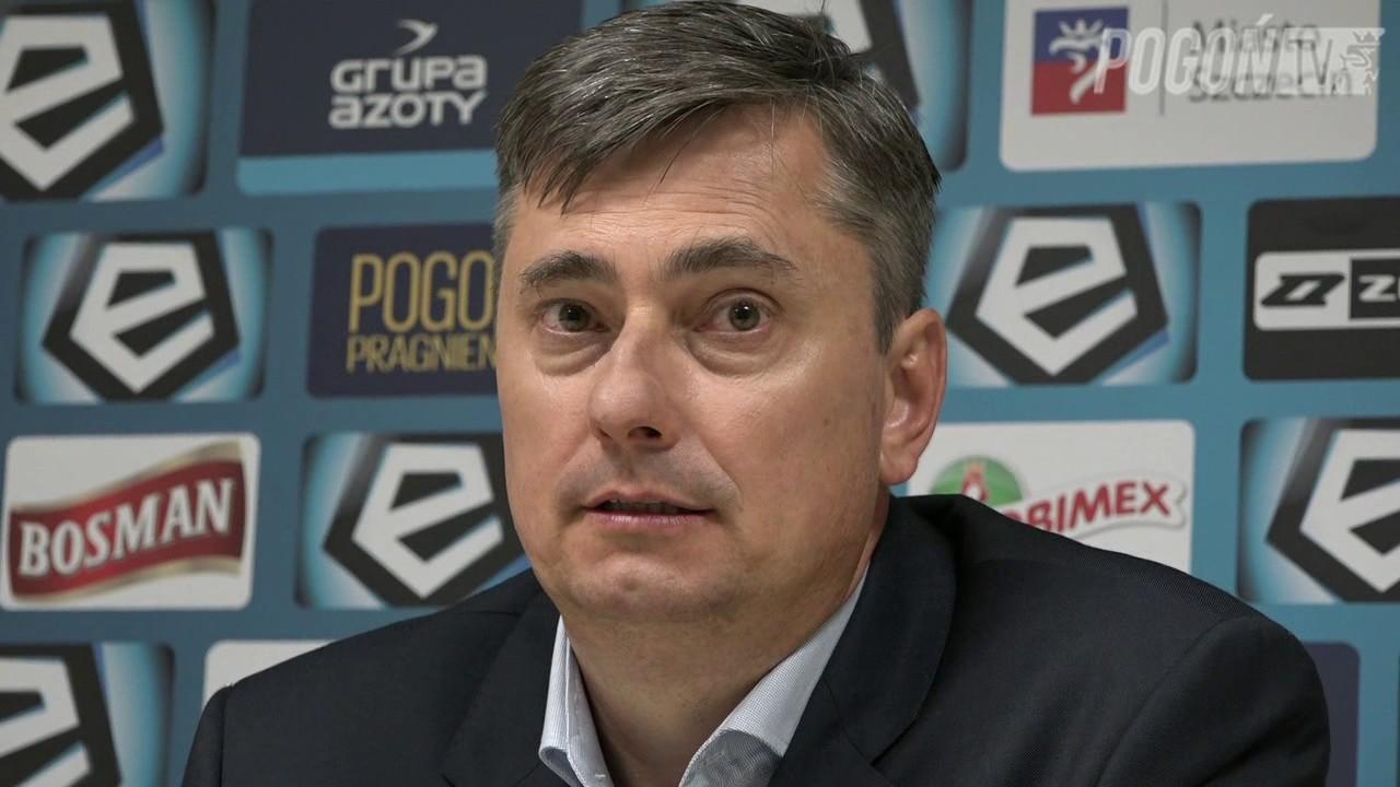 Pogoń Szczecin 1-2 Wisła Kraków 14.07.2017 (KONFERENCJA)