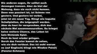 Eminem feat Rihanna - The Way You Lie (Deutsche Übersetzung)