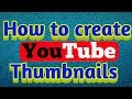 How to create YouTube Thumbnails on Android devices | Kannada technology
