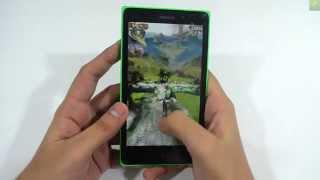 Nokia XL In Depth Game Review Playing Danger Dash & Temple Run OZ