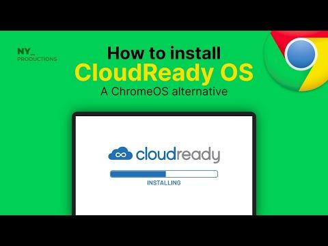 How to Install Cloudready/Chromium OS on PC