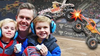 no-mom-no-rules-boys-watch-monster-jam-crash
