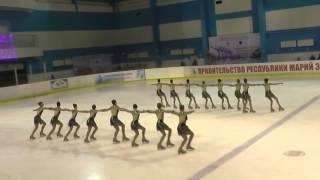 Чемпионат России по синхронному катанию  1 спортивный разряд  ПП 10 Акварель