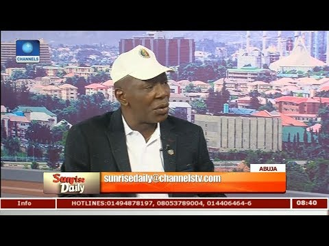 Peace Corps Of Nigeria  Not Soliciting For Power To Carry Arms - Dickson Akoh Pt 1 | Sunrise Daily |