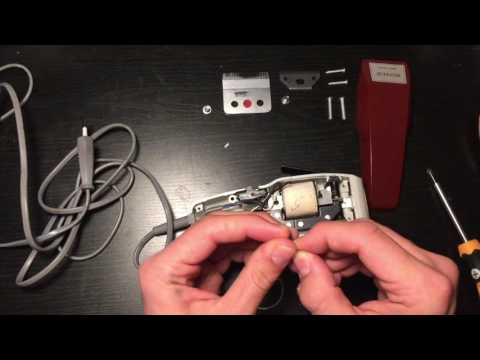 Assembly of the MOSER 1400 hair clipper for course MG2040