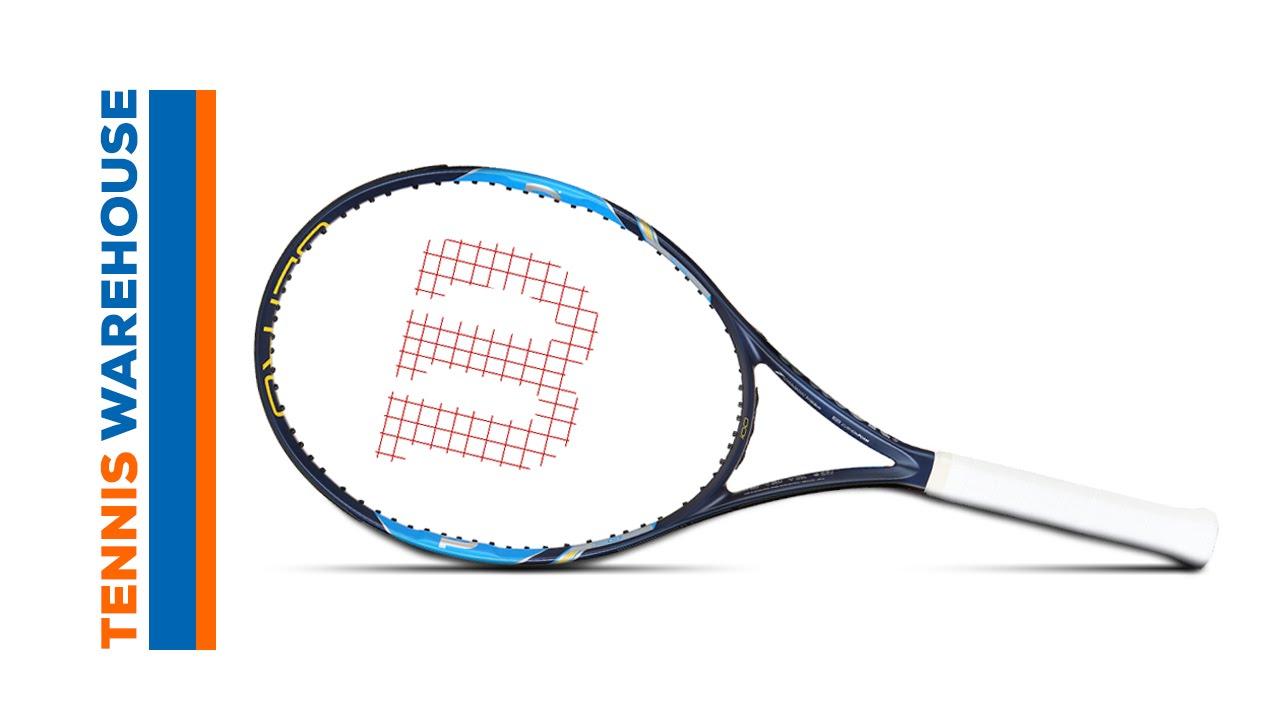 fc04a27c3 Wilson Ultra 100 Racquet Review - YouTube