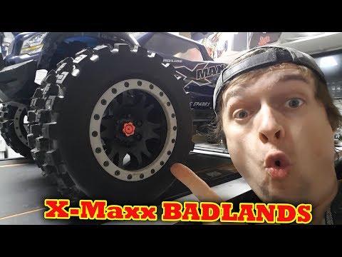 Proline Badlands MX43 for Traxxas X-Maxx Bashing My thoughts so far
