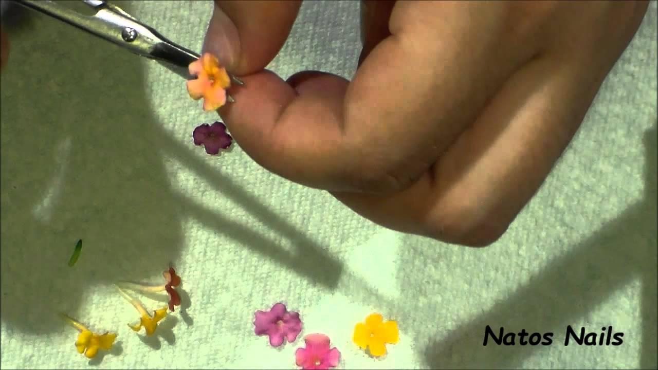 DIY: Como hacer Naturaleza Muerta MUY FACIL - Natos Nails - YouTube