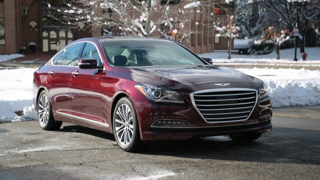 2016 Hyundai Genesis The Luxury Sedan You Never Knew Wanted
