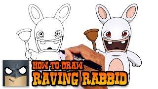 How to Draw Raving Rabbids   Rayman
