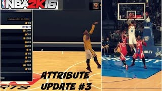 NBA 2K16| Attribute update #3 | Best Signature Style moves/ NBA animations - Prettyboyfredo
