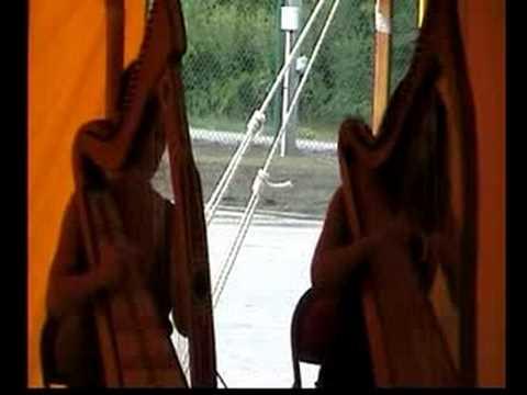 Kim Andrea on celtic harps Butterfly Jig, Slip Jig...