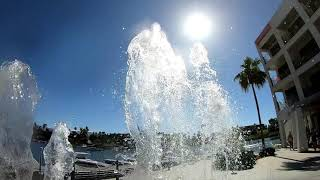 Heat Hotel in Lake Havasu City AZ. London Bridge Time lapse