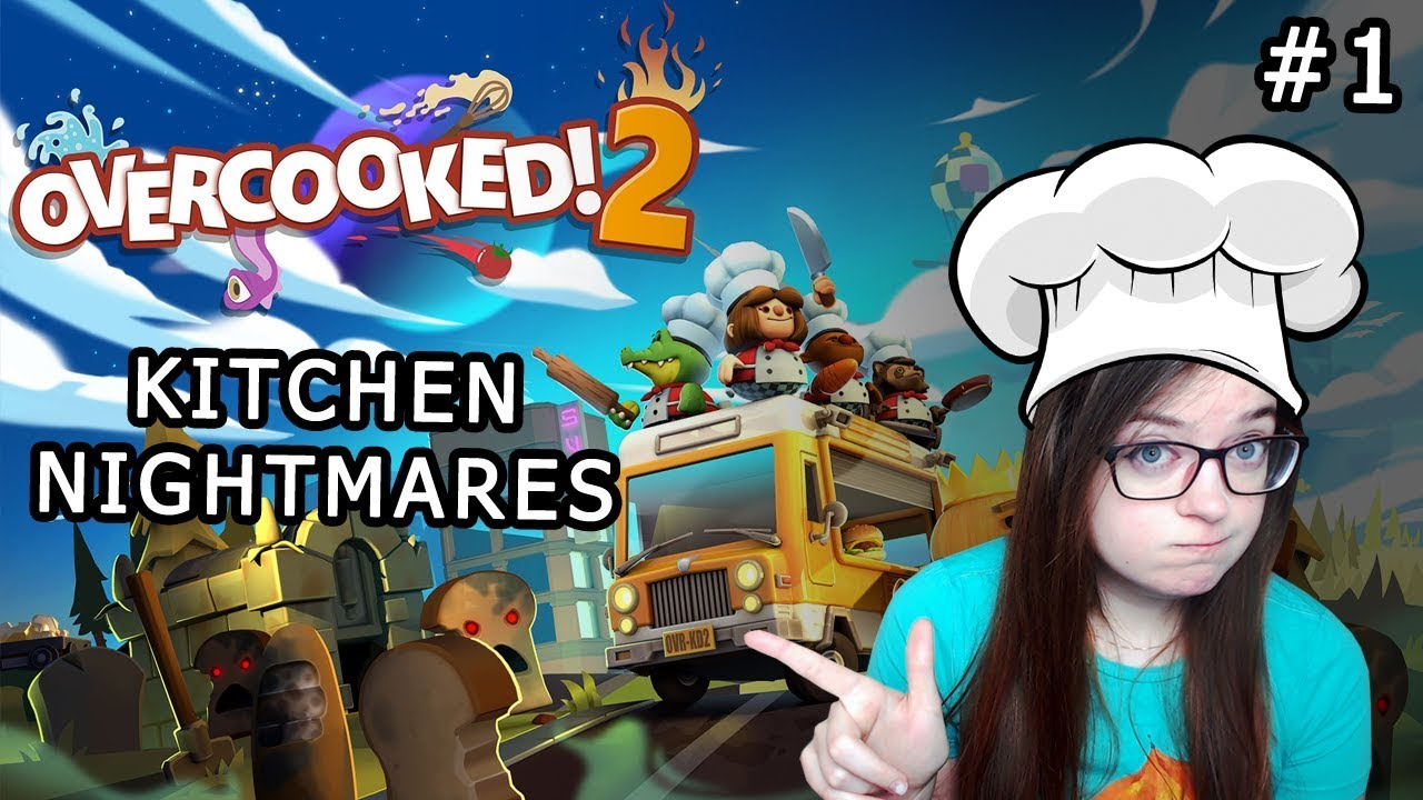 Let\'s Play Overcooked 2 | 2 Player PC Gameplay | #1 Kitchen ...