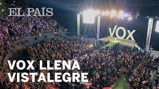 Vox LLENA Vistalegre con más de 9.000 SIMPATIZANTES
