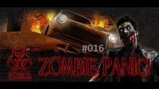 Let's Play Zombie Panic! Source #016 [Deutsch][HD] -Mehr Zombie als Mensch