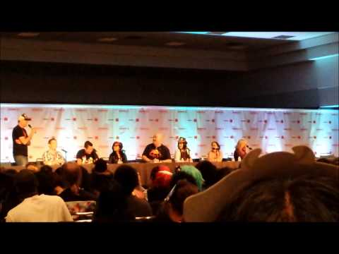 Yusei at Anime Expo 2013 Days 3+4 Blue Exorcist Panel and Fun Stuff