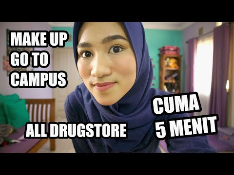 GO TO CAMPUS MAKE UP TUTORIAL (All Drugstore) - Audya Tyas Regita thumbnail