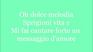 Dolce Melodia (Mermaid Melody) - Lyrics
