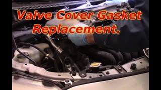 How to replace the valve cover gasket on a 2009 Toyota Corolla