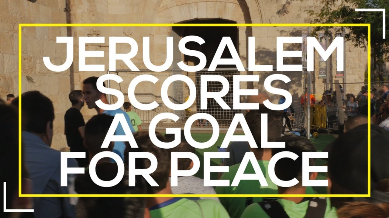 21see: Jerusalem Scores a Goal for Peace