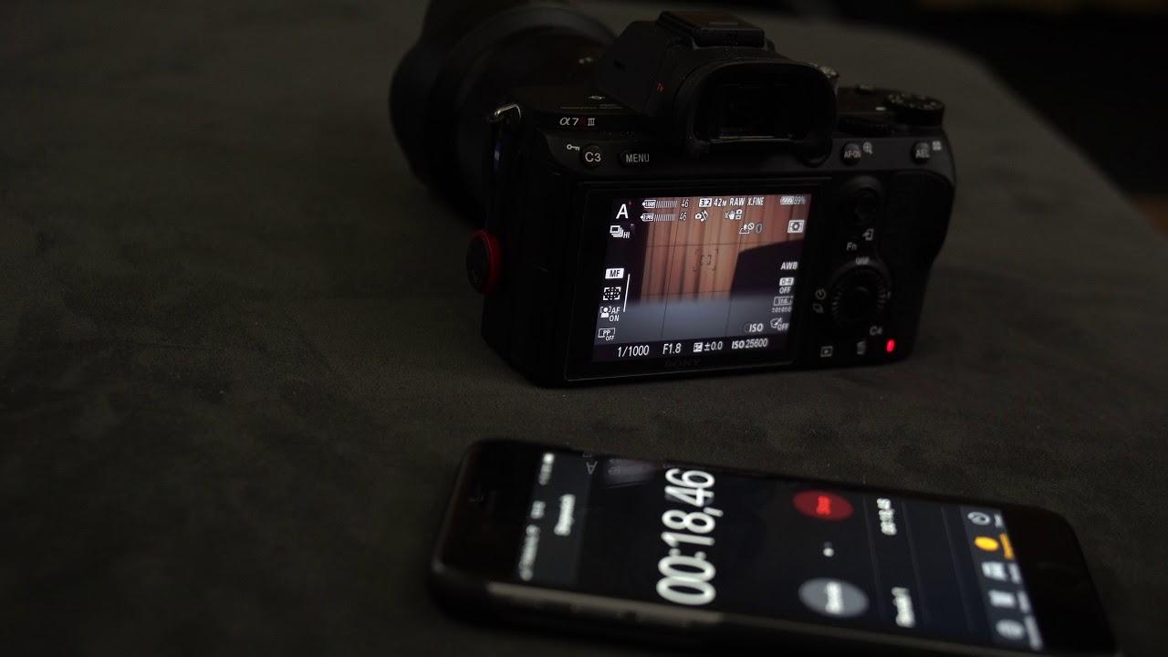 A7r iii buffer clear + size - RAW + JPEG EXTRA FINE 85 shots 52sec